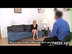 Pounding chicks hot pussy doggystyle makes stud wants more