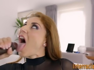 Milf sucks and rides bbc