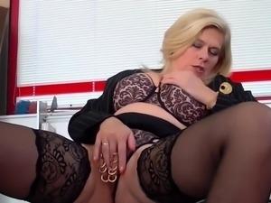 Busty slut banged in orgy