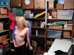 Cute blonde beauty sucking and fucking