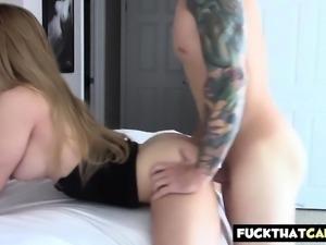 Blonde webcam goddess 15 - fucking and big facial