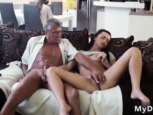 Old man sucking young pussy What would you prefer -