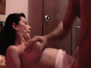Naughty moments with a hot ass Latina amateur