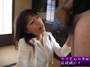 Japanese MILF Widow Asian GangBang Sex