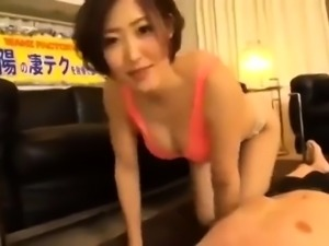 Asian japanese oriental blowjob cumload