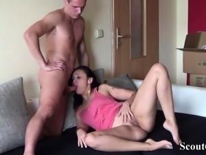 German Teen Couple Made Homemade Sex Video in Berlin