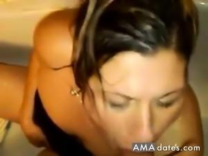 Amateur Golden Shower