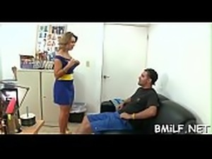 Milf gives a sensuous oral and takes a ride on cock