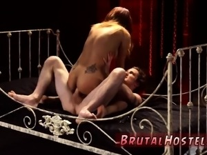 Doctor punishes nurse and slave girl ass worship Poor little