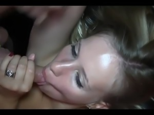 Gangbang party slut multiple creampies p3