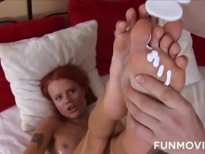 Svelte redhead with small tits wanna get her anus Creamed And Filled