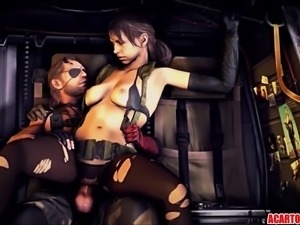 Hot Metal Gear Solid sex compilation