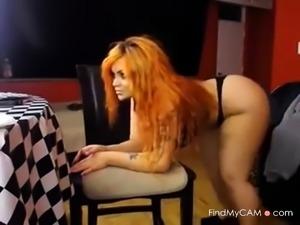 Curvy PAWG Bitch on Webcam