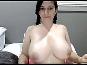 Beautiful white girl lives show big tits chat