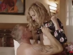 Emotional light haired MILF Mona Wales is happy to be banged missionary
