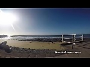 dogging at the beach on my voyeur livecam
