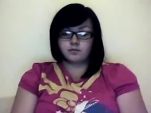 Teen playing on webcam... me -)