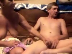Mature loves handjob and blowjob