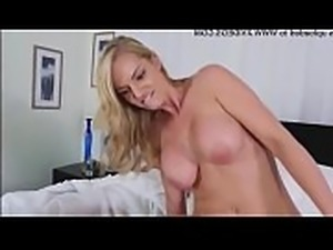 Amateur blonde mom swallows Dont Sleep On Stepmother