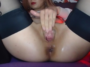 Big and juicy pussy being played with