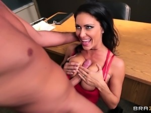 Hardcore fuck in leather boots with busty slut Jessica Jaymes