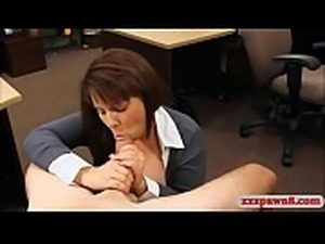 Big breasts milf slammed by pawn keeper at the pawnshop