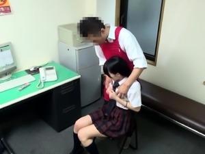 Adorable Japanese schoolgirls getting pumped full of cock