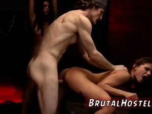 Perverted pussy and redhead rough slap Bondage,