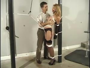 Jeanne Hollywood Basone - Hard Bondage Scene 7