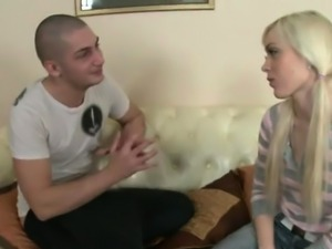 Nasty babe is avid for proper stimulation and hardcire sex