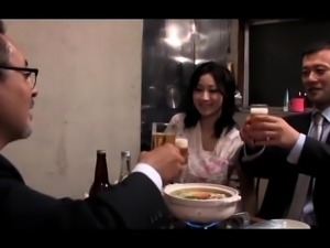 Stunning Japanese wife engages in hardcore cuckold fucking