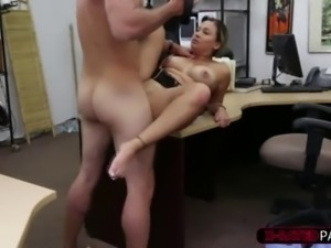 Big ass latina police woman