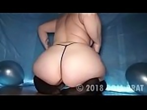 Big Ass BBW Birthday Cake Smash