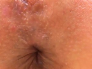 Fervent sweetie is opening up narrow pussy in closeup31uww