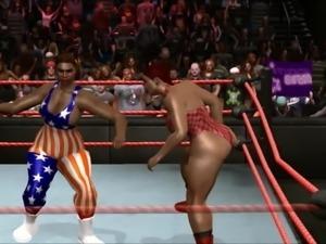 rebecca championship wrestling title defense