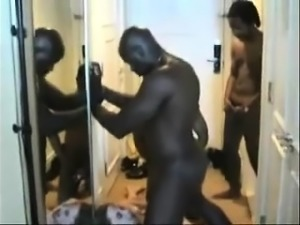 Interracial Amateur Threesome
