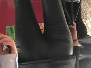 Spandex outdoors