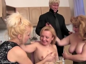 Mature housewives cheating with lucky boy