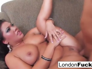 London Gets Her Pussy Pounded