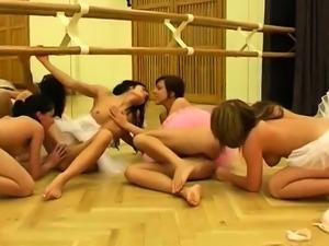 Lesbian phone sex Hot ballet doll orgy