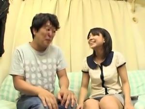 Shameless asian babe Koharu Aoi explores carnal pleasures