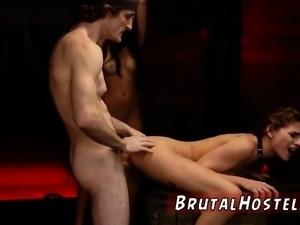 Tiny anal bdsm Two youthful sluts, Sydney Cole and Olivia Lu