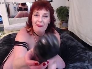 Mature dawn filming herself masturbating 3