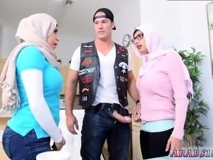 Arab webcam at work first time Art imitating life.