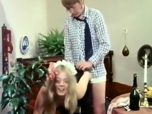 Blonde hottie in old on young anal hardcore porn
