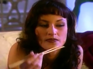 Busty vintage pornstar drilled with a big fat cock