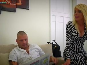 Stunning MILF Tiffany Rousso fucking her husband s friend