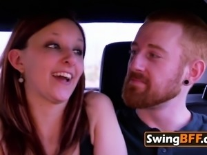 Young swingers unite experienced swinger