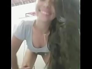 Cris Pkena twerking her nice ass