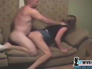 My wife suck a stranger at home